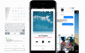 iPhone iOS 10 GUI by Facebook 1